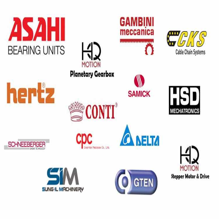 برند های تولید کننده سی ان سی