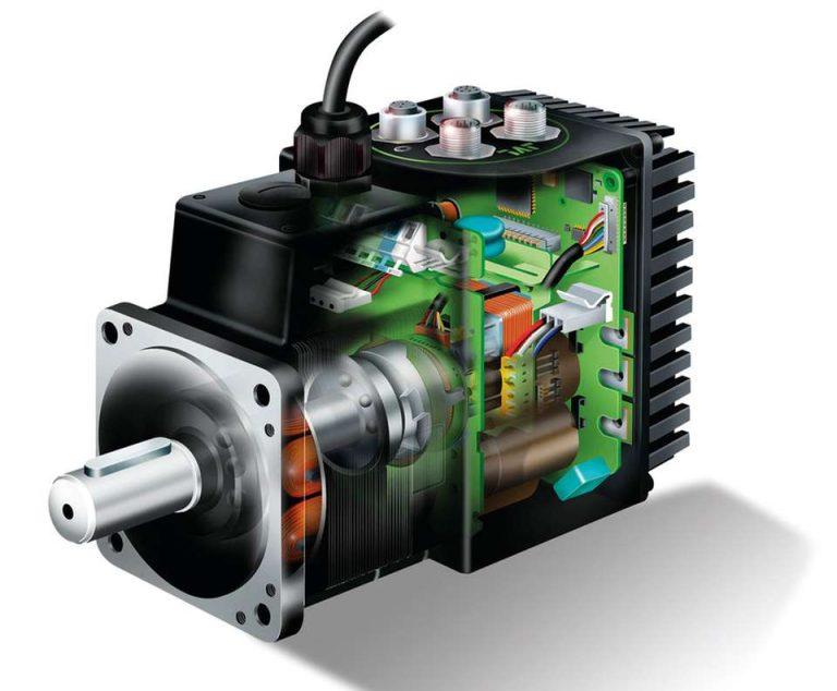 سروو موتور از چه قطعاتی تشکیل شده است؟
