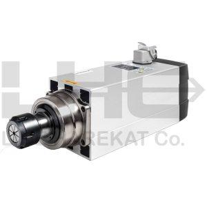اسپیندل 7.5KW هوا خنک 18000دور 380V ER32 برند HQM(ضد آب)